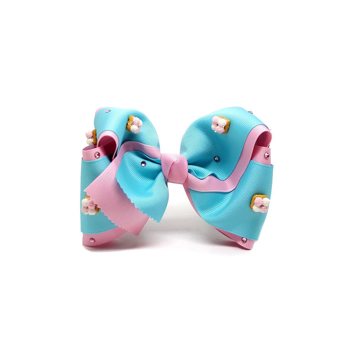 Yomi Yomis Bow Marshmallow Cookies Mini Double Old Pink And Aqua